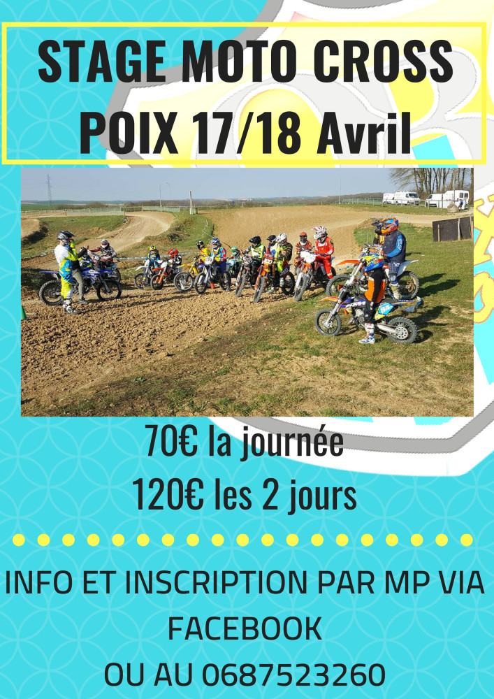 STAGE MOTO CROSSPOIX 28_29 JUILLET