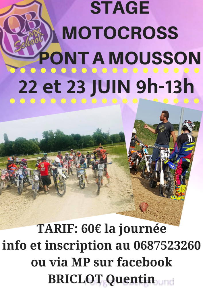 STAGE MOTOCROSSMAIZIERES