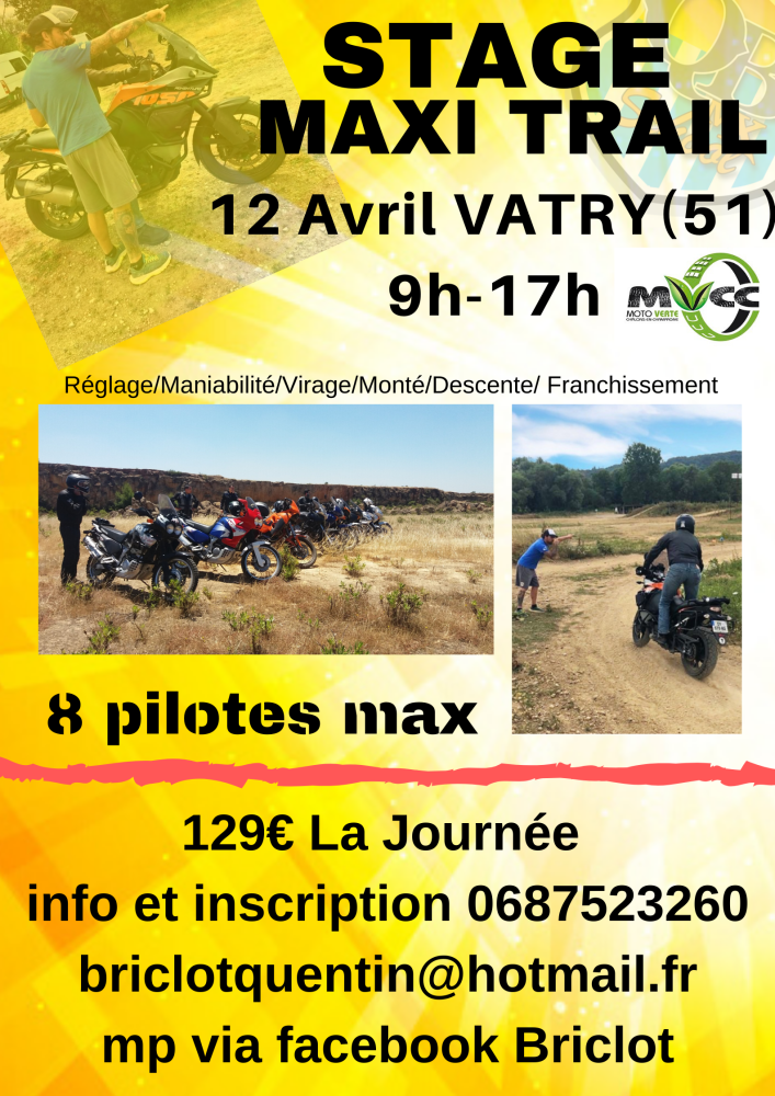 STAGE maxi trail
